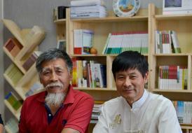 摄影大师蔡焕松先生做客承德市写作协会